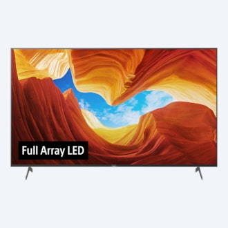 XH90 | Full Array LED | 4K Ultra HD | High Dynamic Range (HDR) | Smart TV (Android TV): εικόνα
