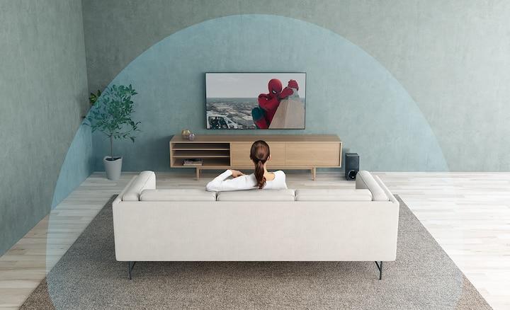 Ο ήχος ρέει γύρω σας με το Dolby Atmos