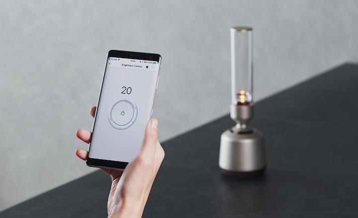 Έλεγχος μέσω smartphone του LSPX-S2