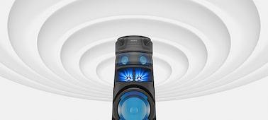 Ηχοσύστημα υψηλής ισχύος με τεχνολογία BLUETOOTH® V83D: εικόνα