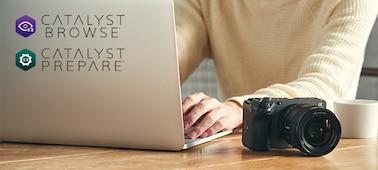 Εικόνα επεξεργασίας με Catalyst σε PC
