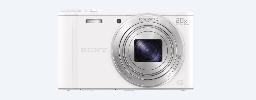 Φωτογραφική μηχανή Compact WX350 με οπτικό ζουμ 20x: φωτογραφίες