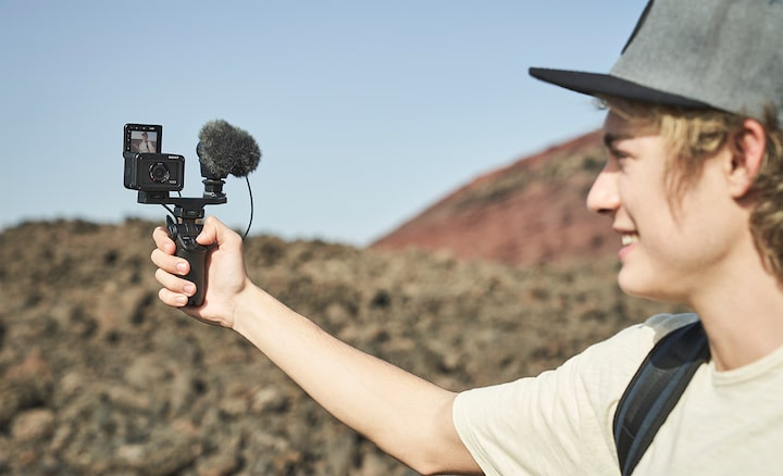Εξωτερικό μικρόφωνο για ήχο υψηλής ποιότητας