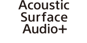 Λογότυπο Acoustic Surface Audio+