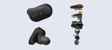 Ασύρματα ακουστικά εξουδετέρωσης θορύβου WF-1000XM3: εικόνα