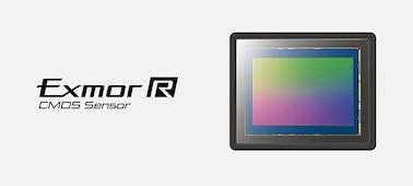 Εικόνα του αισθητήρα full-frame Exmor R CMOS