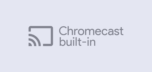 Λογότυπο Chromecast built-in