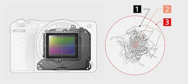 Εικόνα κατασκευής του OpticalSteadyShot