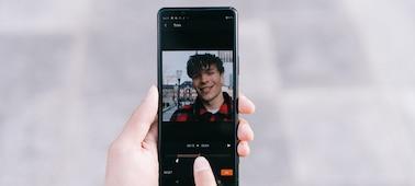 Εικόνα αναπαράστασης ατόμου που χρησιμοποιεί το Movie Edit Add-on στην επεξεργασία ταινίας